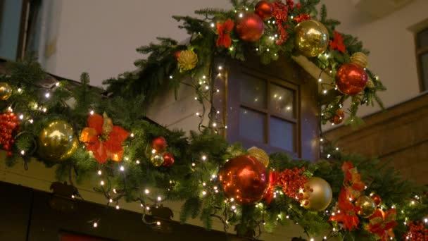 barevné kolekce vánoční koule užitečné jako vzorek pozadí