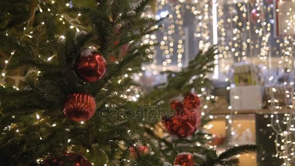 Colorful collection of Christmas Balls useful as a background pattern, close-up, urban decoration