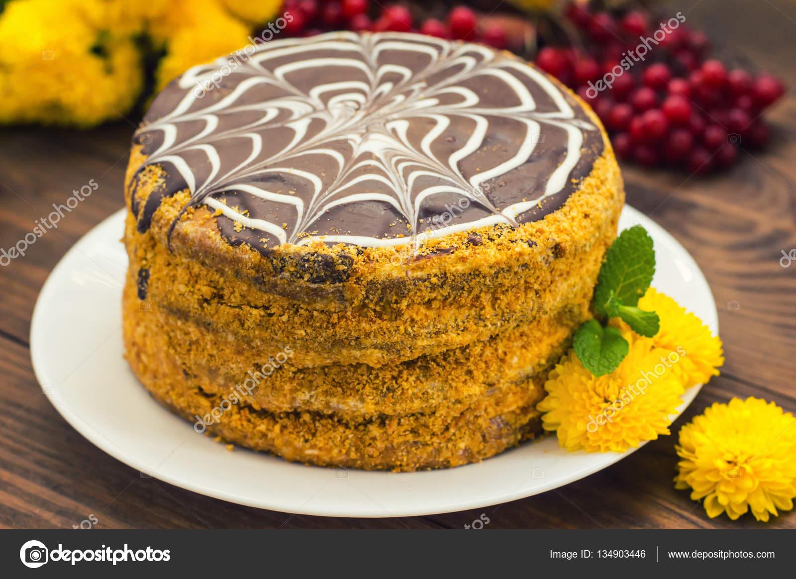 esterhazy taart Traditional Hungarian Esterhazy cake .selective focus . with  esterhazy taart