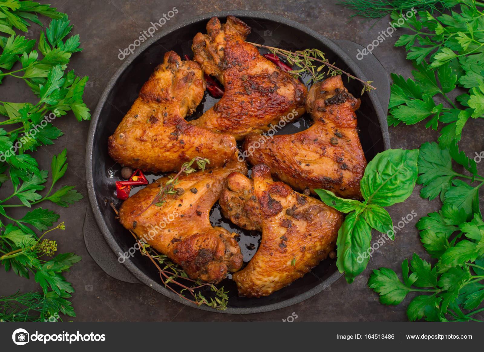 Terbiyeli Tavuk Kanadı