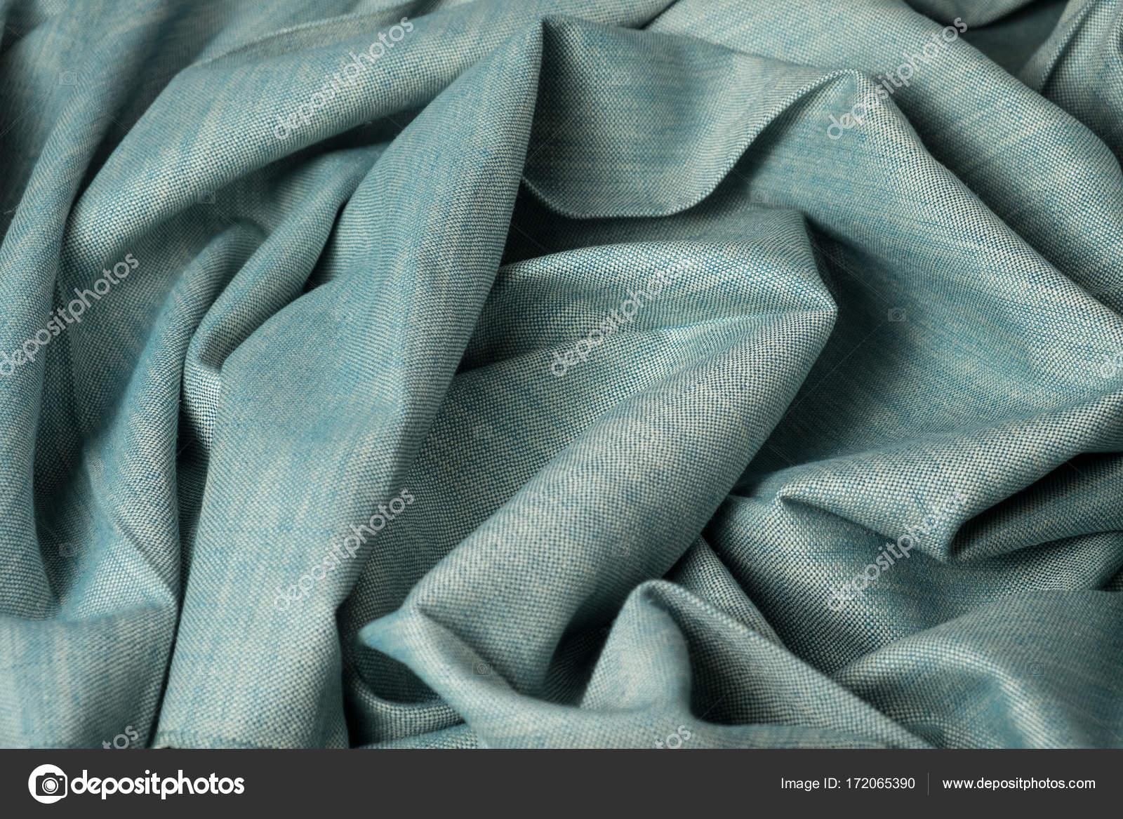 Zerknitterten Stoff Hintergrund und Textur. Zusammenfassung ...