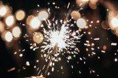Fotografie Ohňostroj. Sparks. Oslava svátků a strana