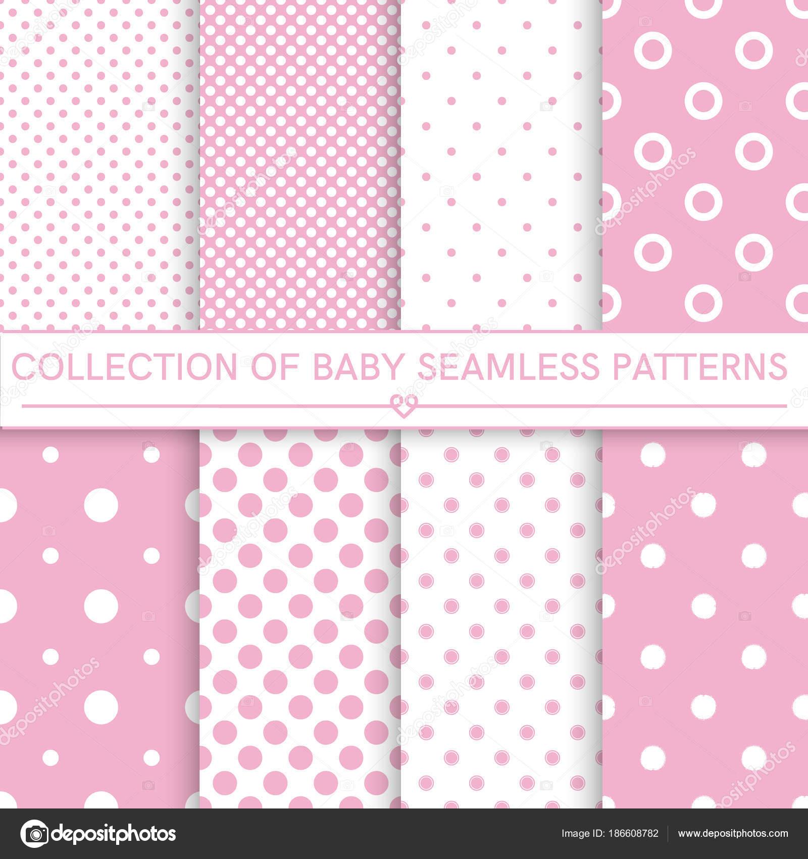 Colección de patrones sin fisuras bebé — Vector de stock © romalka ...