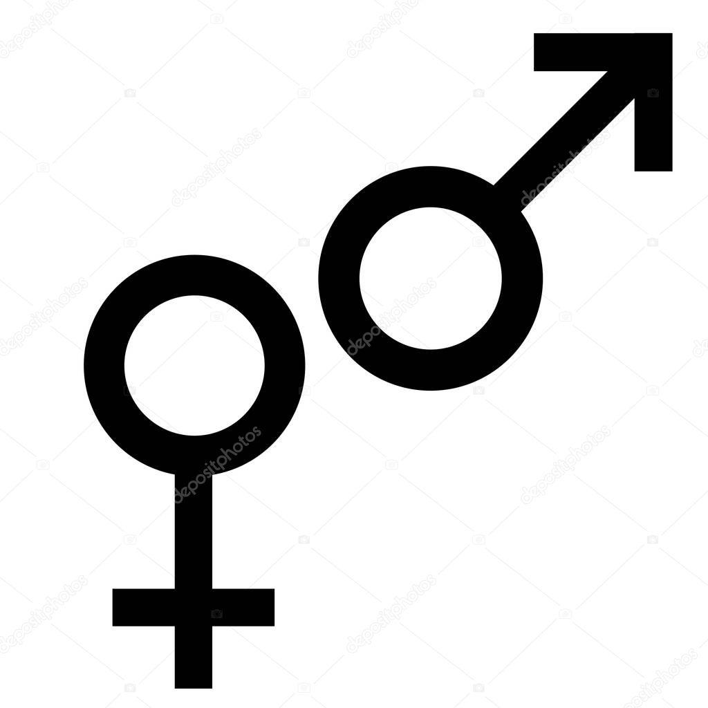 geslacht man vrouw
