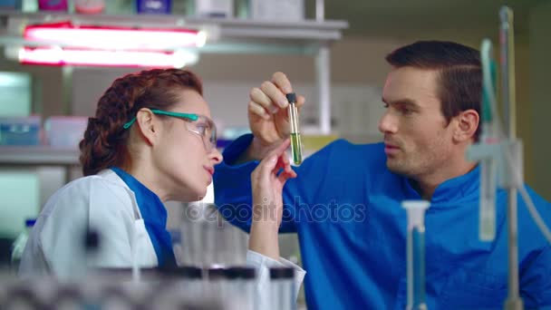 Lab teamwork. Medical scientist working. Technician doing medical research