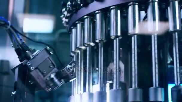 Pharmaceutical manufacturing machine. Pharmaceutical quality control