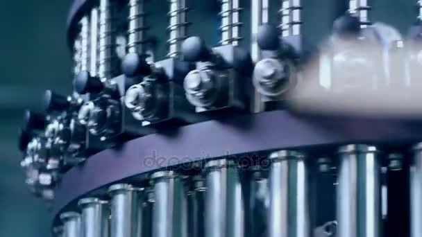 Machinery industrial equipment. Machine part. Machine technology