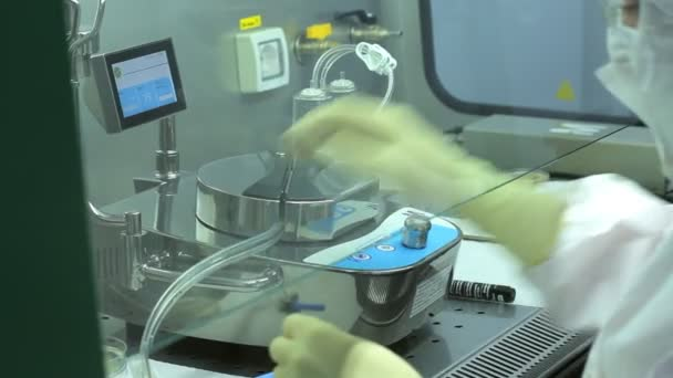 Wissenschaftliche Forschung im medizinischen Labor. Pharma Labor-experiment