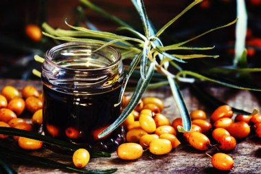 Natural sea buckthorn oil