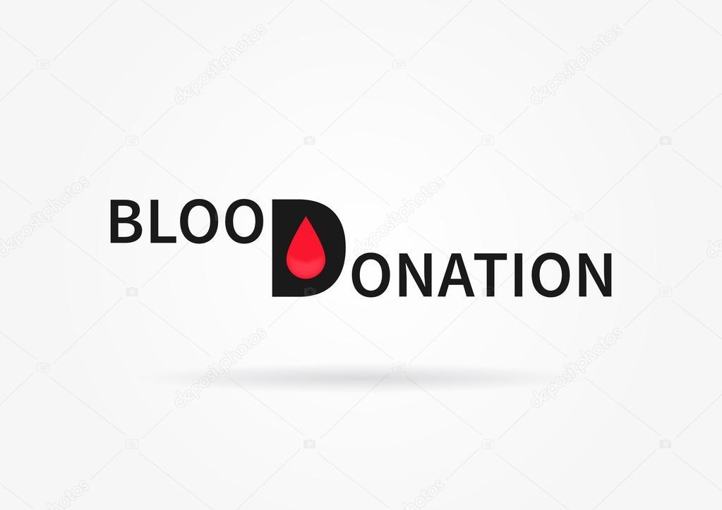 Ilustração Do Vetor De Doação De Sangue Vetores De Stock
