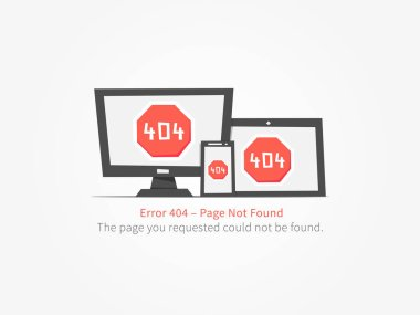web page 404 error creative design
