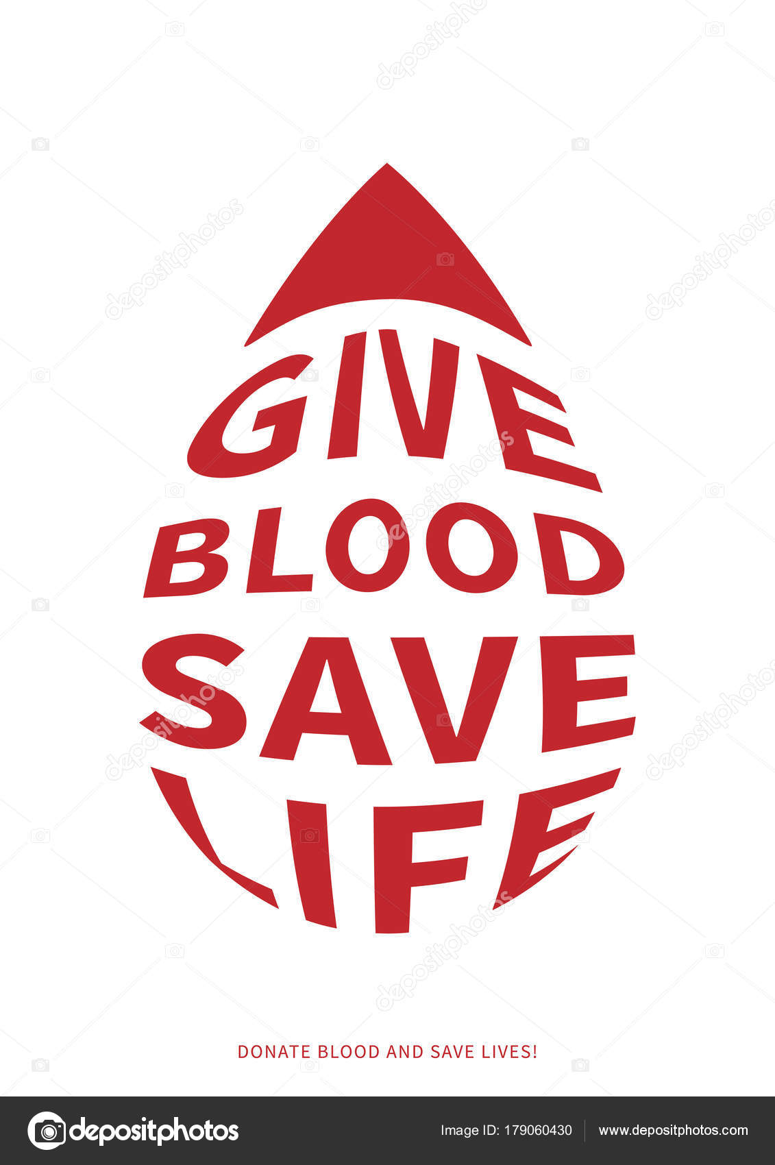 Blood donation vector illustration with text with drop shape stock blood donation vector illustration with text with drop shape stock vector altavistaventures Image collections