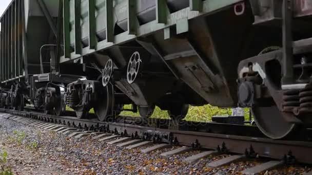 Lokomotiva na železnici. Železniční doprava