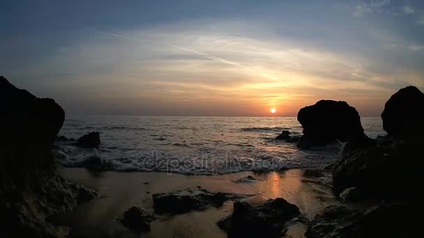Západ slunce nad Rudé moře