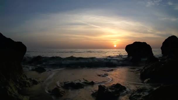 Západ slunce nad Rudým mořem