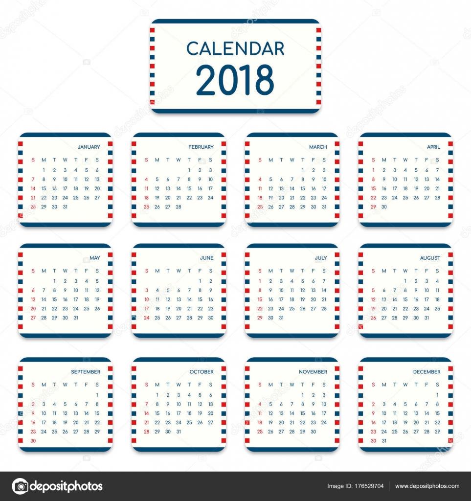 Wunderbar Ein Jahr Kalendervorlage Zeitgenössisch - Entry Level ...