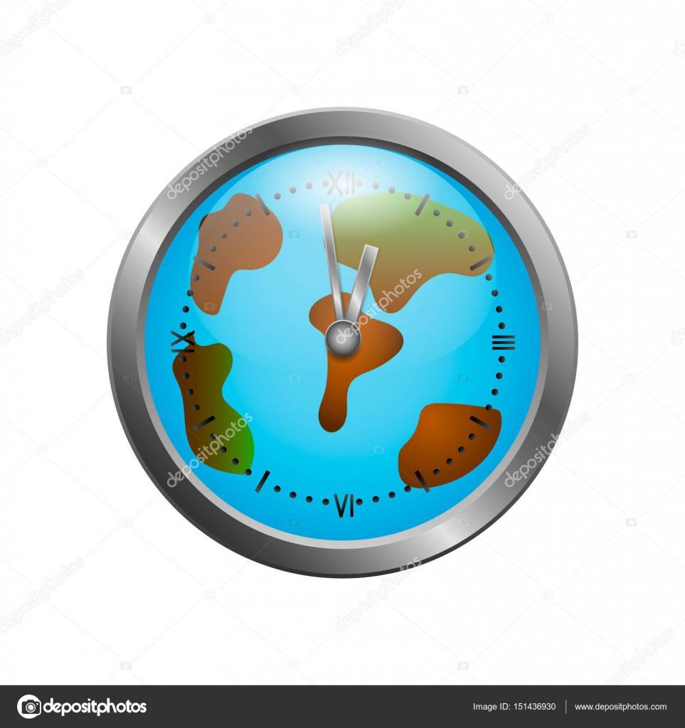 World clock map stock vector ksneveroska 151436930 world clock map stock vector gumiabroncs Choice Image
