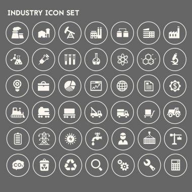 Big Industry icon set