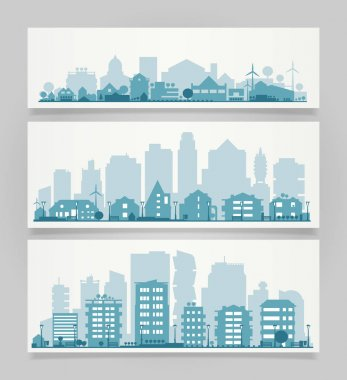 City Skyline Set