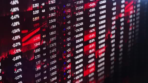 Finanzkrise, Aktualisierung von Statistiken, Zahlen, Umsatzrückgang, fallende Preise