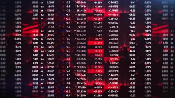 Számok csökkenése, árak, eladások visszaesése, tőzsdei összeomlás, válság, nemteljesítés