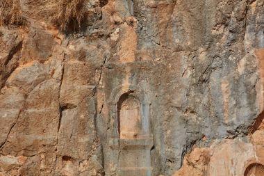 Caesarea Philippi ruins at the Golan, Israel