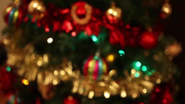vánoční stromek s dekoracemi