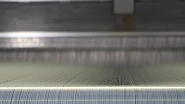 Textil gyár robotok és gépek