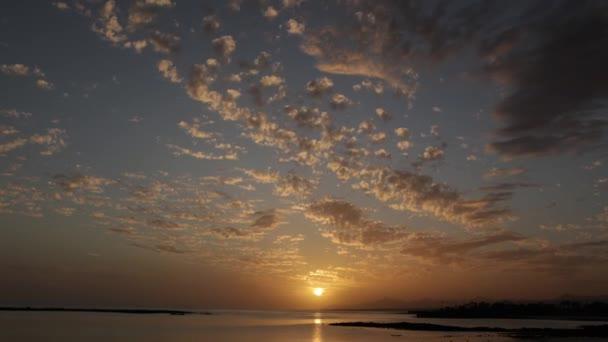 krásný západ slunce timelapse
