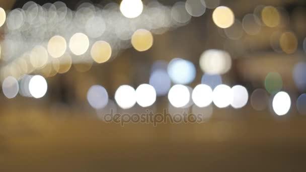 Blikající světla v Barceloně na Vánoce