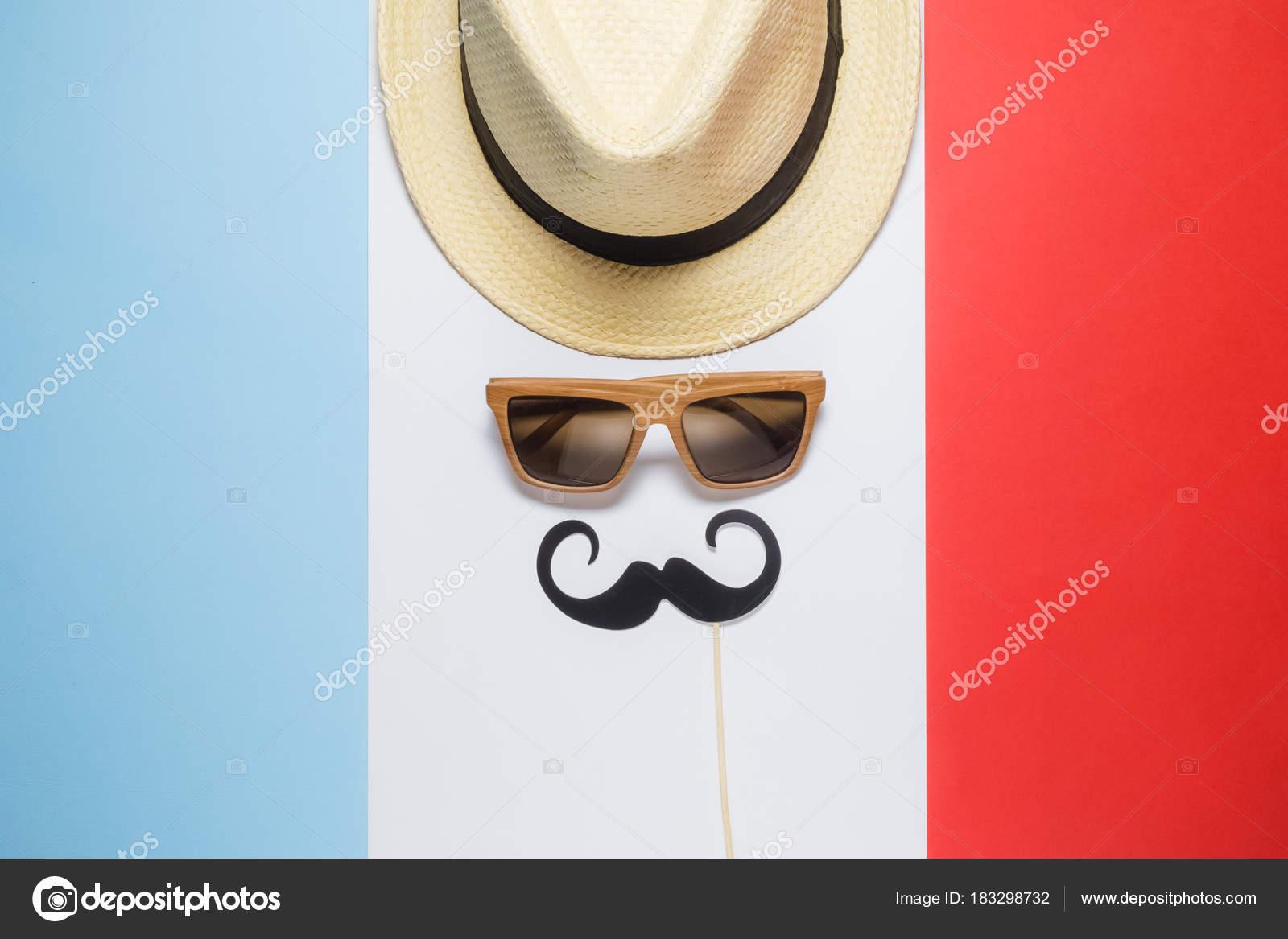Alten Altmodischen Franzose Zusammenfassung Auf Französisch Flagge