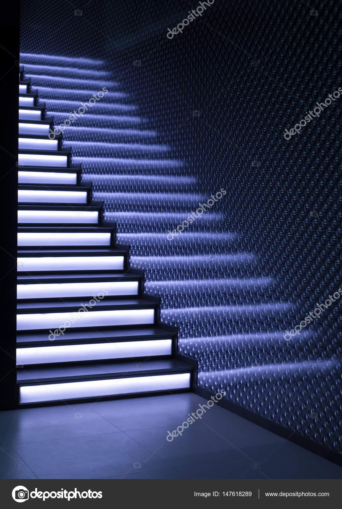 trap met verlichting — Stockfoto © Onradi #147618289