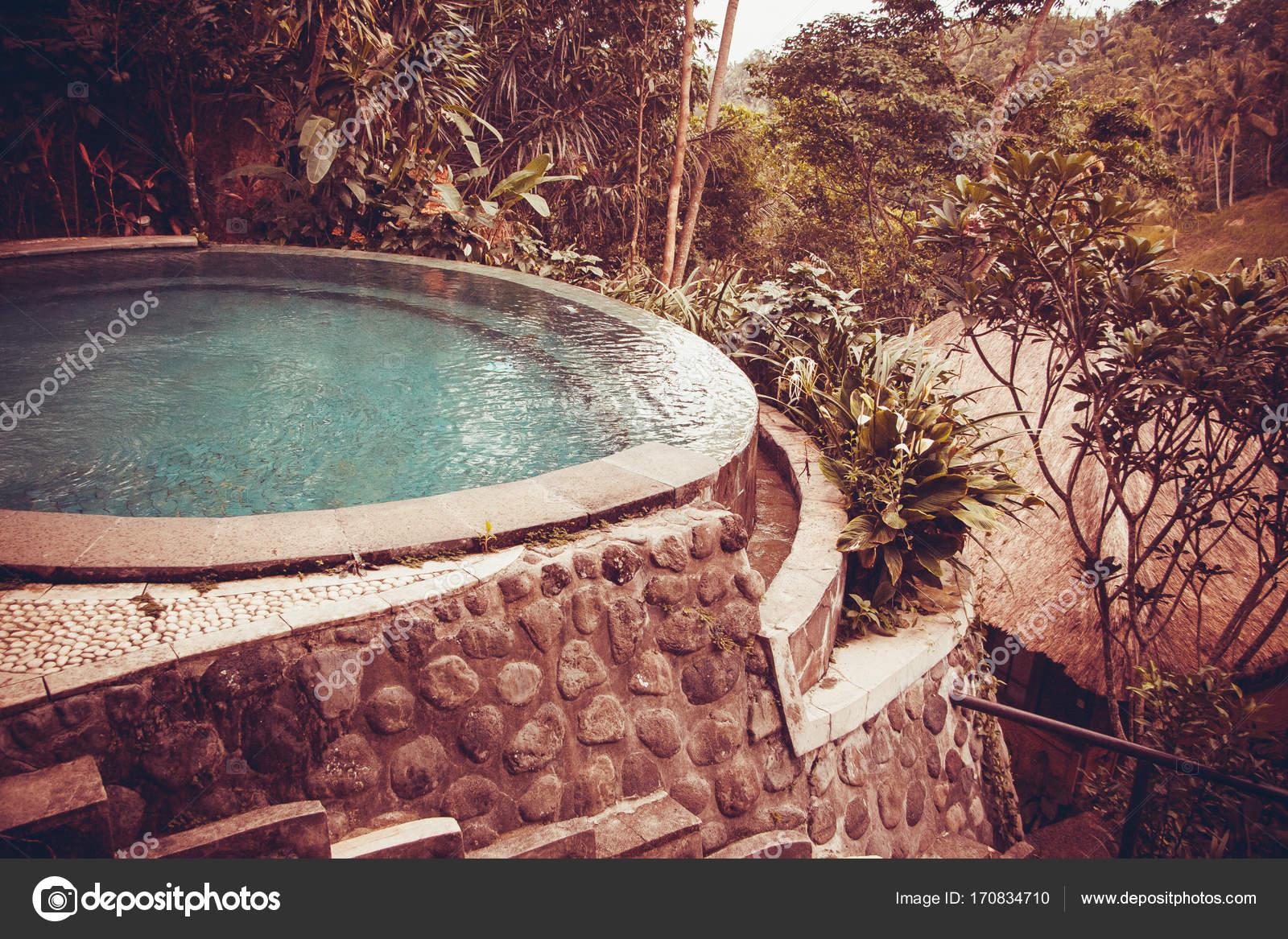 Schone Hotel Pool Bali Indonesien Stockfoto C Transurfer 170834710