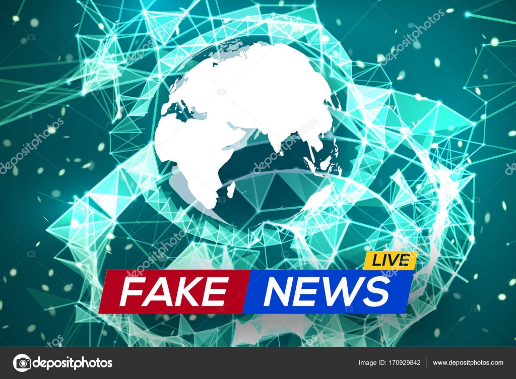 Fake news live world map on glowing plexus structure background fake news live world map on glowing plexus structure background business technology news background gumiabroncs Choice Image