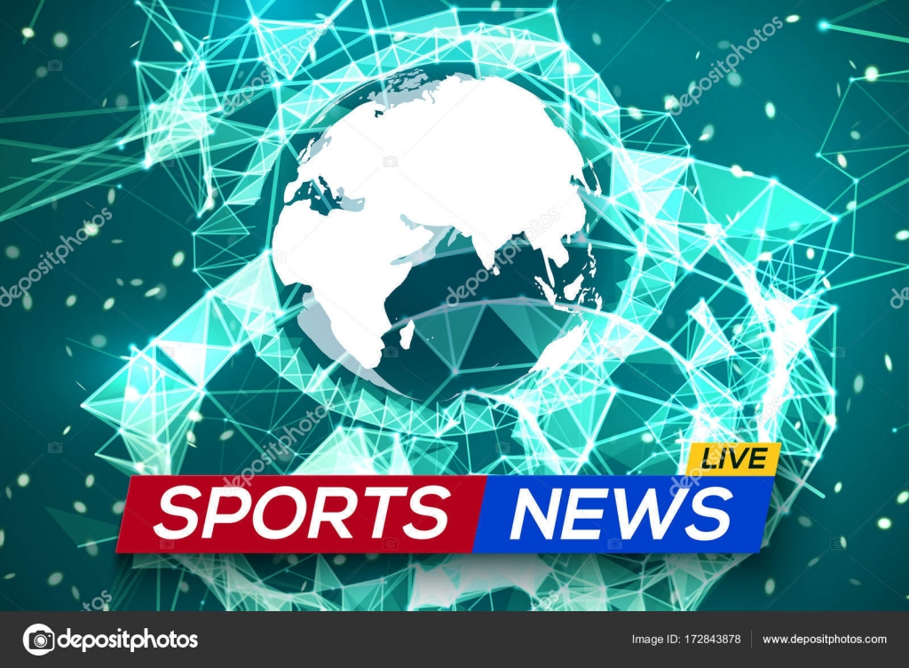 Sports news live with world map africa and europe stock vector sports news live with world map africa and europe stock vector gumiabroncs Gallery