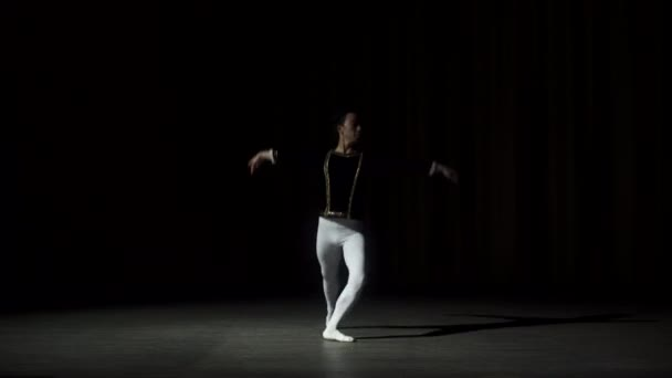 Ballet Dancer Performing On Stage