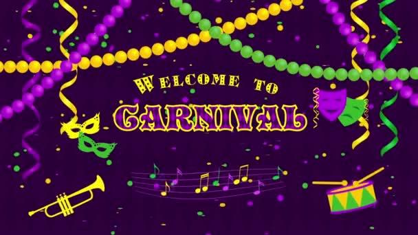 Üdvözöljük a Farsang maszkok és konfetti