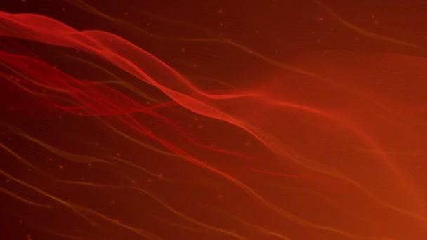 Piros tüzes absztrakt mozgó háttér