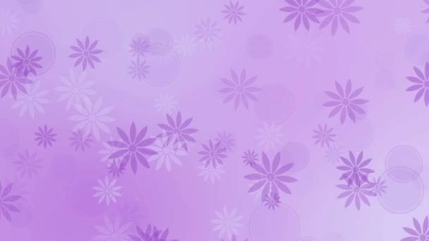 Színes virágok, lila háttér