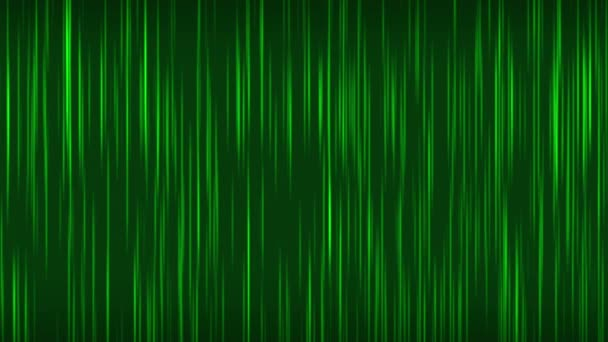 Green abstract motion background with lines