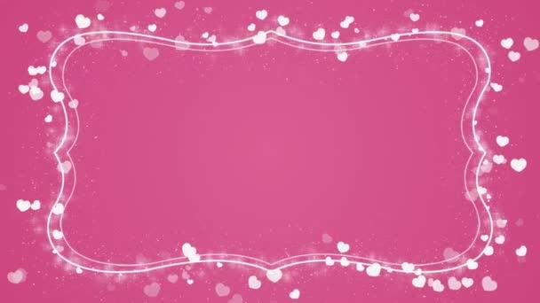 Romantické pozadí abstraktní s srdce pro valentinky den a svatební den