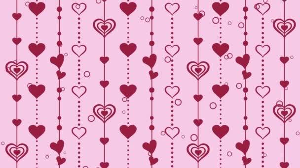 Srdce vzor pozadí, Valentýna
