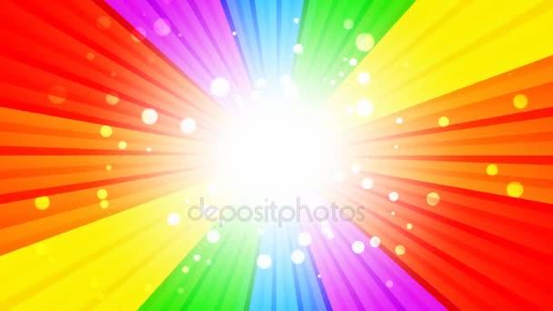 Rainbow praskla smyčka