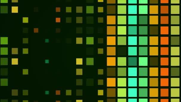 Farbige Quadrate blitzten auf