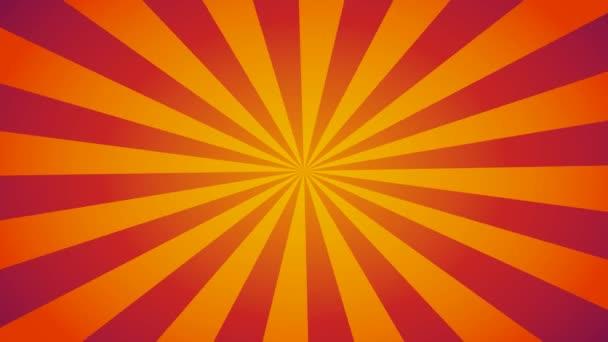 Narancs Burst vektor háttér. Képregény háttér helyet a logó