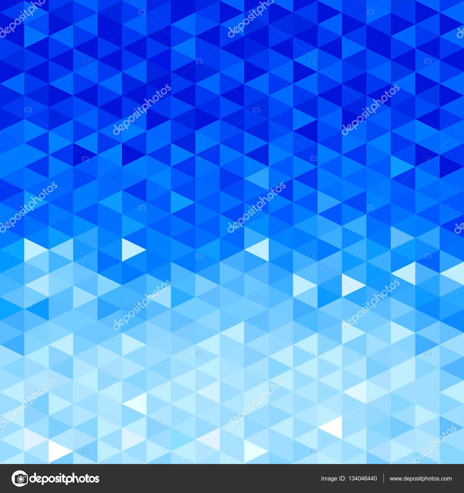 Fondo de cristal azul