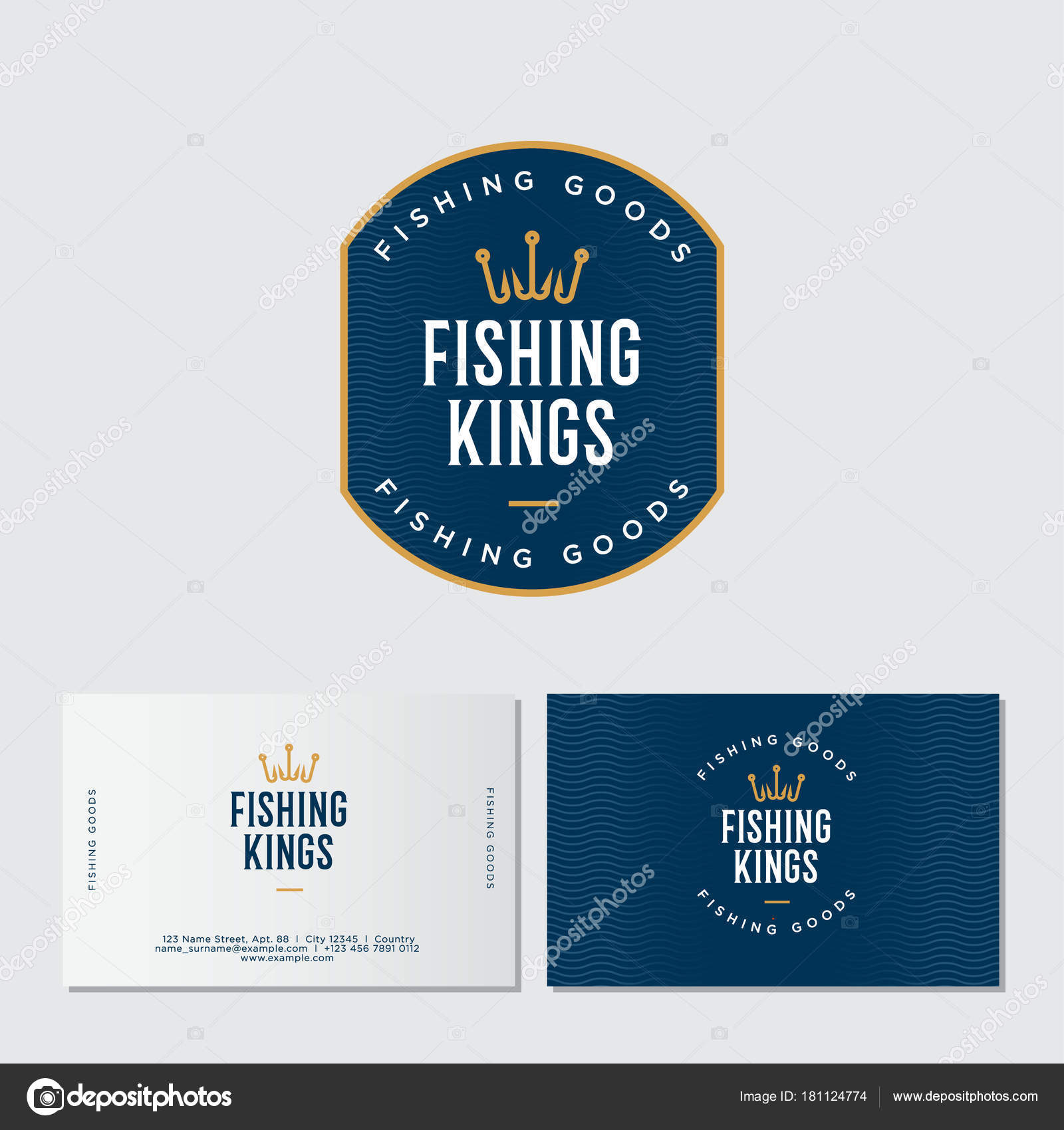 Fishing Logo Fishing Fishing Equipment Store Logo Fisher Club Emblem ...