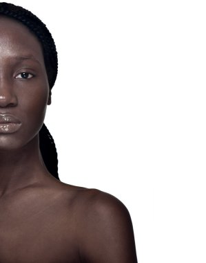 African descent woman.