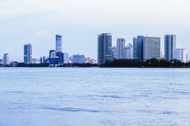 Gurney Drive and George Town Metropolitan from Straits Quay, Penang Malaysia