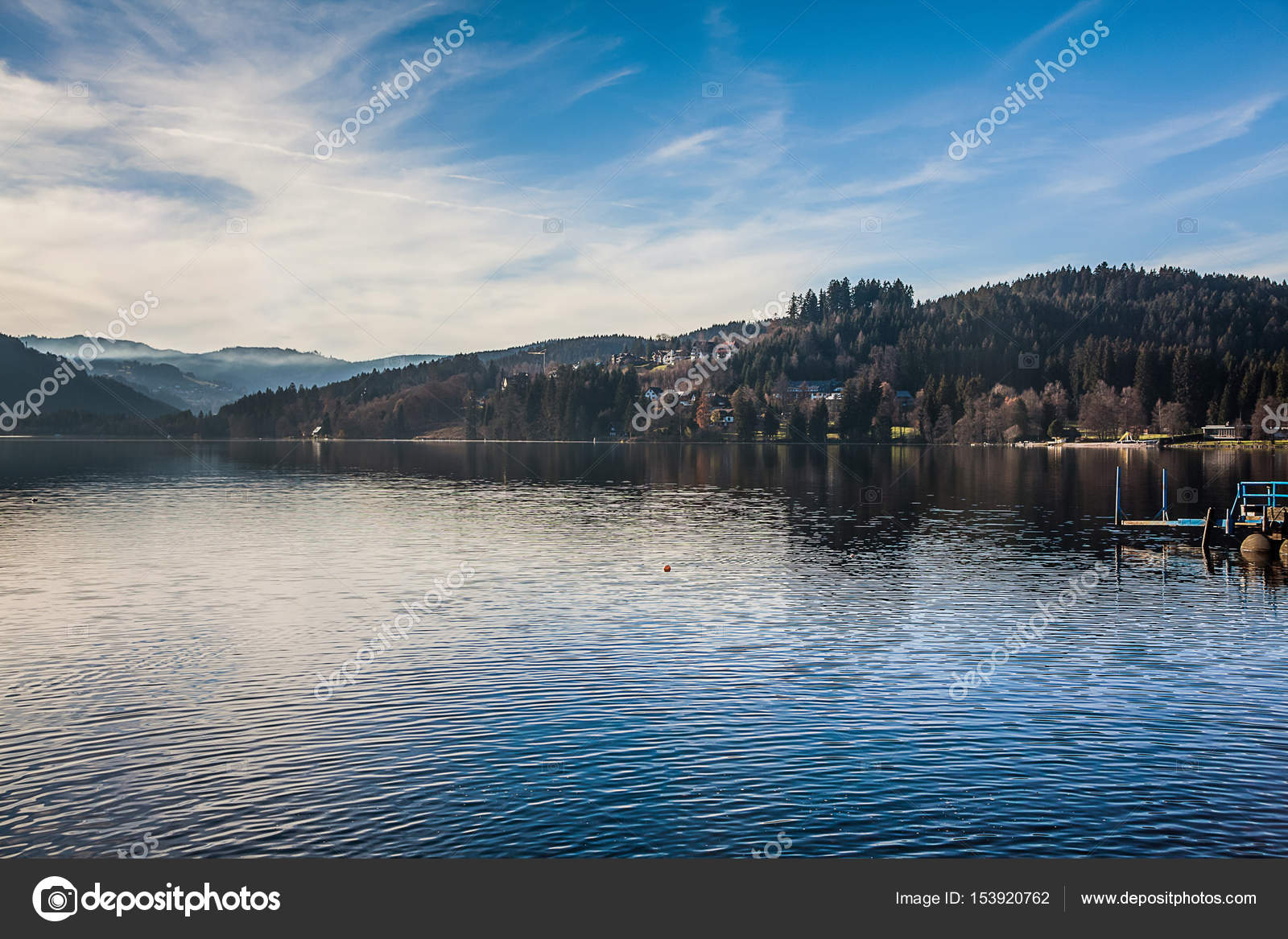 Lake Titisee Black Forest In Germany Stock Photo C Keongdagreat 153920762